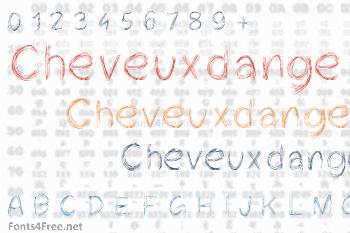 Cheveuxdange Font
