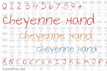 Cheyenne Hand Font