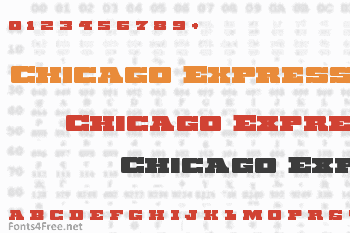 Chicago Express Font