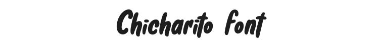 Chicharito Font Preview