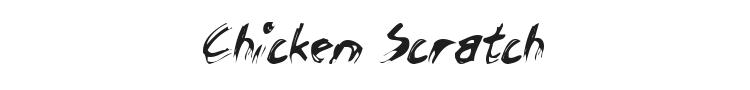 Chicken Scratch Font Preview