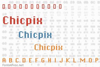 Chicpix Font