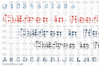 Children in Need Font