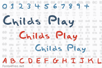 Childs Play Font