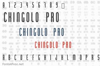Chingolo Pro Font