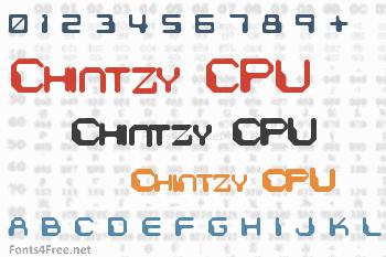 Chintzy CPU Font