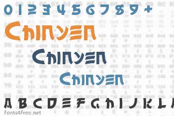 Chinyen Font