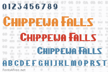 Chippewa Falls Font