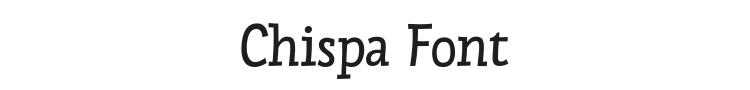 Chispa Font Preview