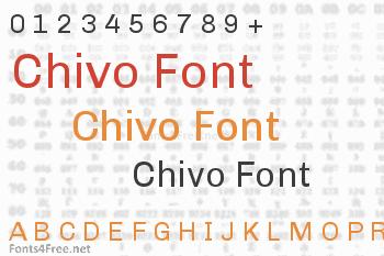 Chivo Font