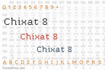 Chixat 8 Font