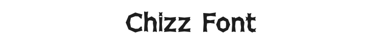 Chizz Font Preview