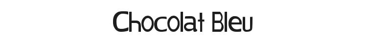 Chocolat Bleu Font