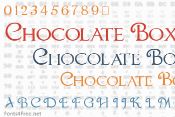 Chocolate Box Font