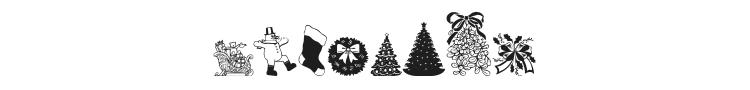 Christmas Debbie Font Preview