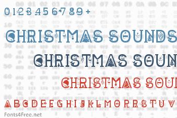 Christmas Sounds Font