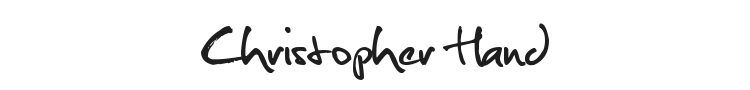 Christopher Hand Font Preview