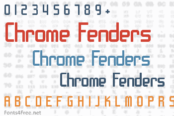 Chrome Fenders Font