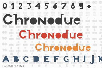 Chronodue Font