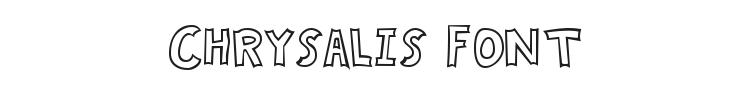 Chrysalis Font