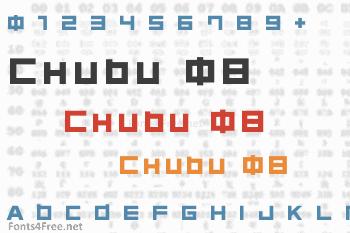 Chubu 08 Font