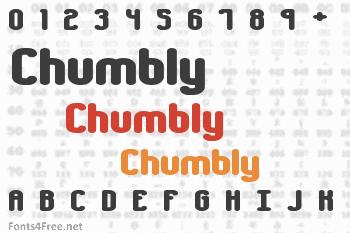 Chumbly Font