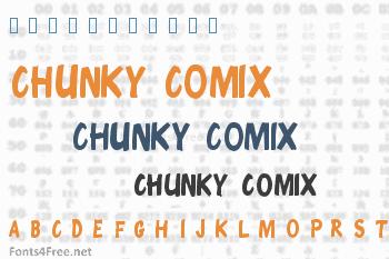 Chunky Comix Font