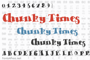 Chunky Times Font