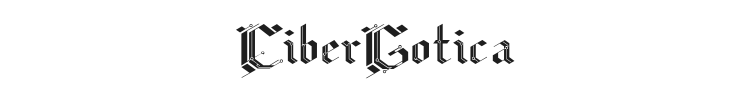 CiberGotica Font Preview