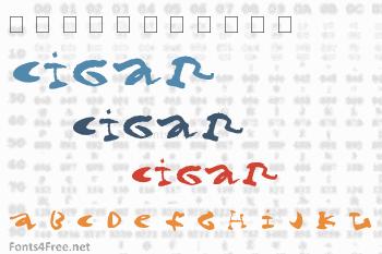 Cigar Font