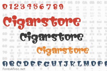 Cigarstore Font