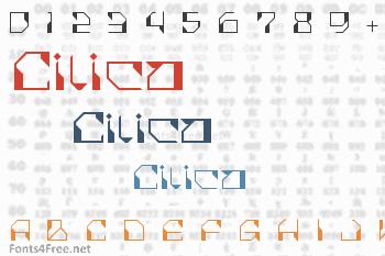 Cilica Font