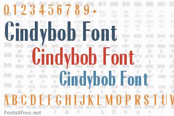 Cindybob Font