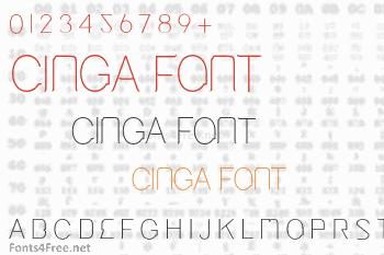 Cinga Font