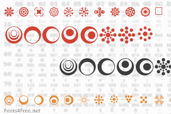 Circle Things 2 Font