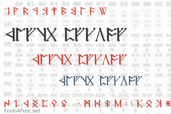 Cirth Erebor Font