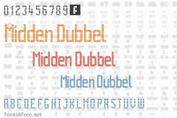 Citaro Voor Dubbele Hoogte Midden/Dubbel Font