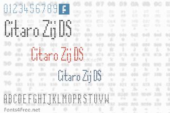 Citaro Zij DS Font