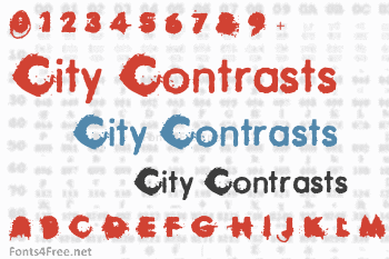 City Contrasts Font