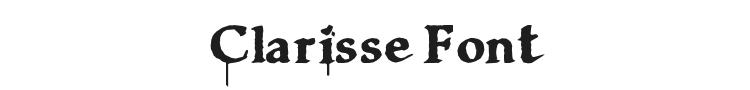 Clarisse Font Preview