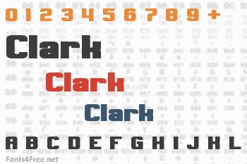 Clark Font