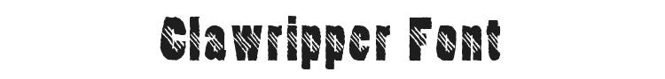 Clawripper Font