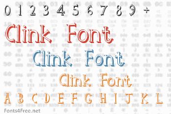 Clink Font