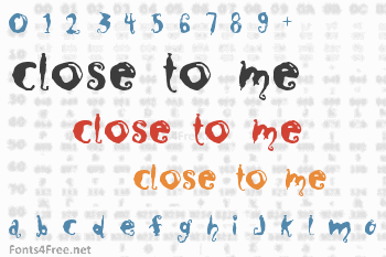 Close to me Font