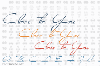 Close to You Font
