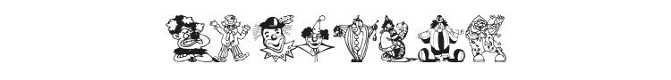 Clowners Font