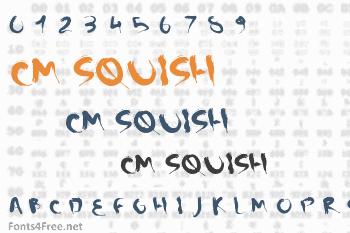 CM Squish Font