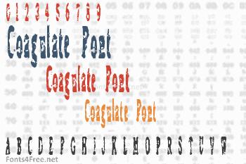 Coagulate Font