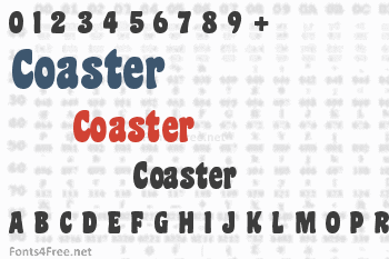 Coaster Font