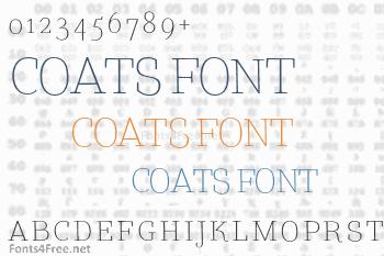 Coats Font